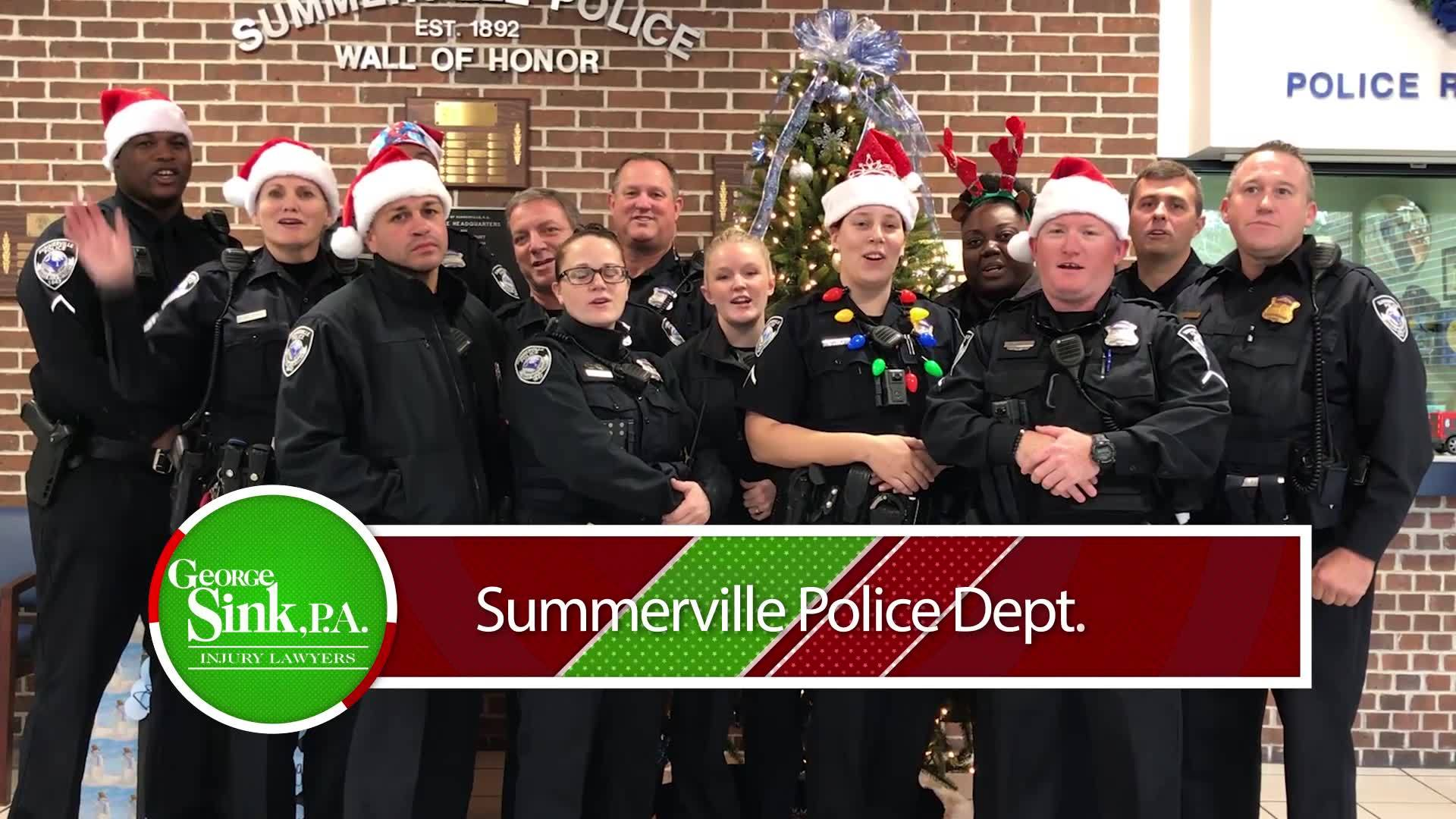 Holiday Heroes: Summerville Police Department 3