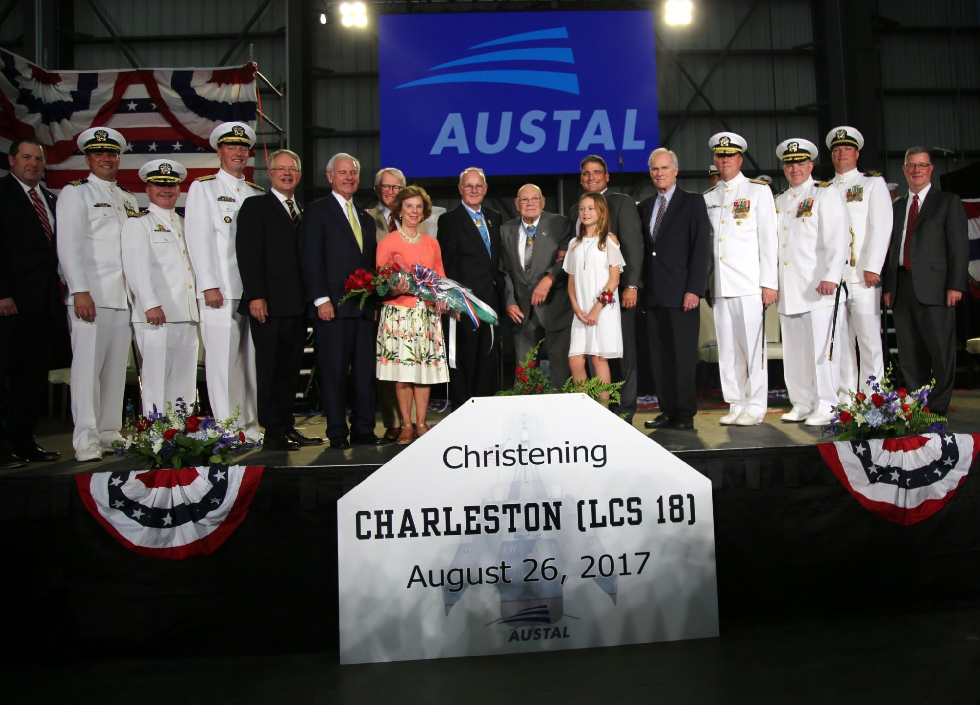 Riley, Tecklenburg announce commissioning of the USS