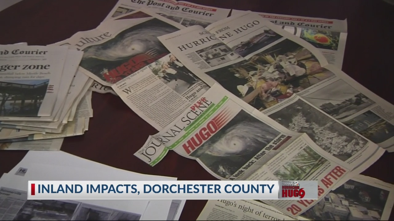 Hurricane Hugo's impact on Dorchester County