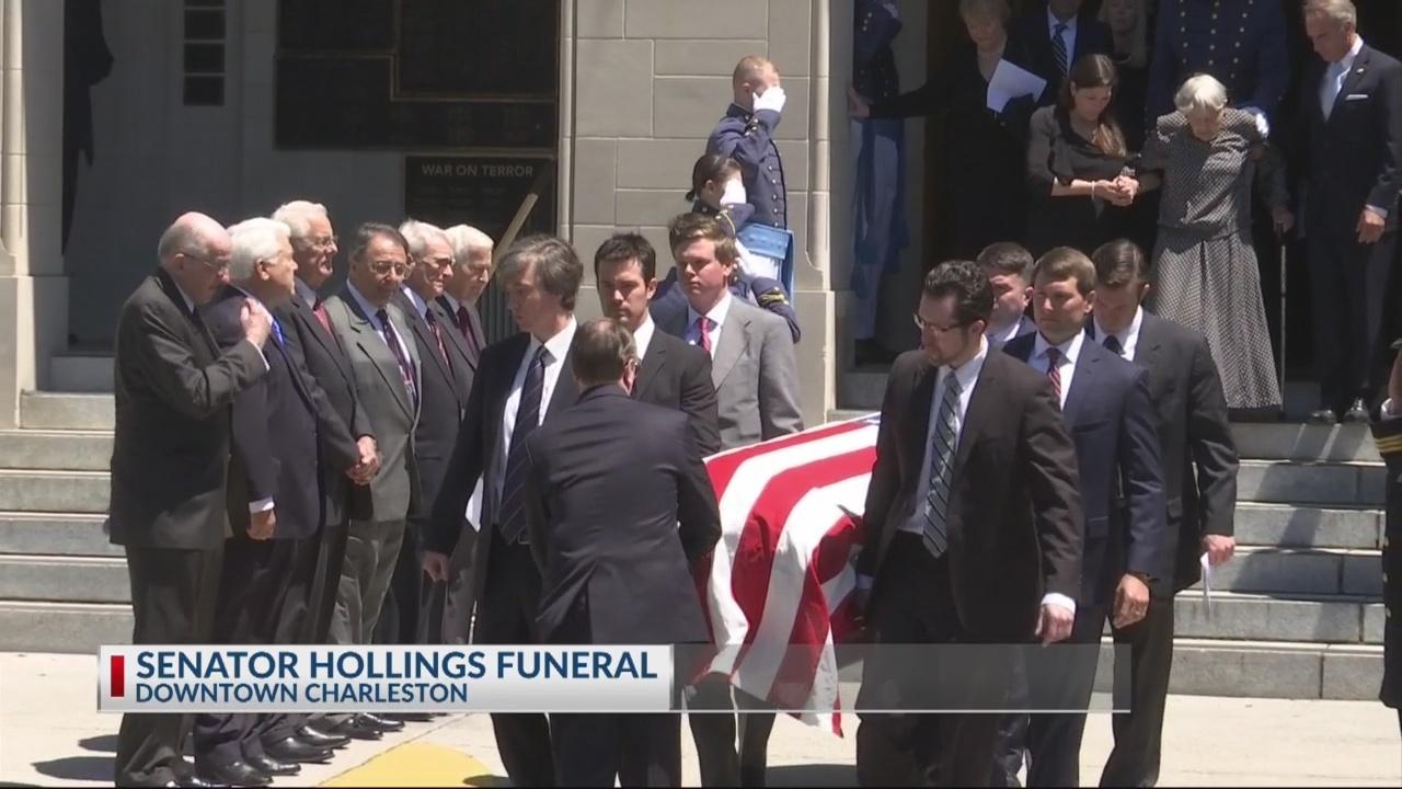 Senator Hollings Funeral