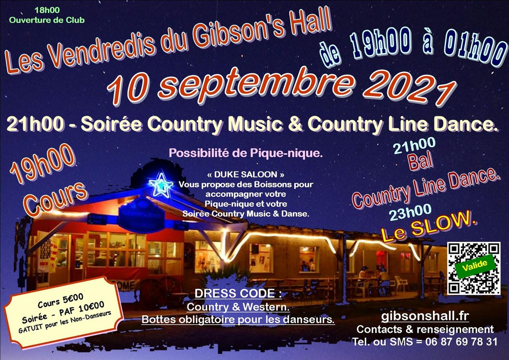 (13) BERRE-LETANG/ SOIREE COUNTRY LINE DANCE LE 10