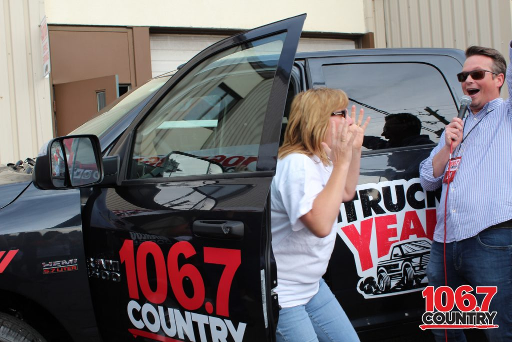 TRUCK YEAH WE HAVE A WINNER Country 1067