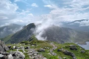 Wales Snowdonia Carneddau walk
