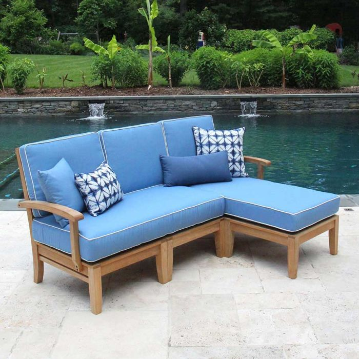 calypso right chaise sectional