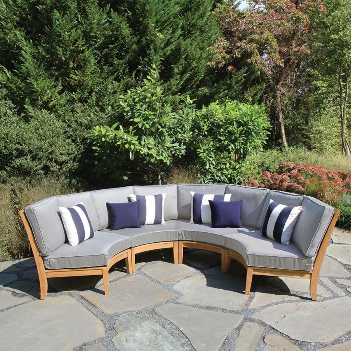calypso sectional curved chair