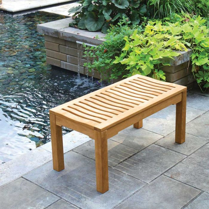 foxhall 3 ft backless bench