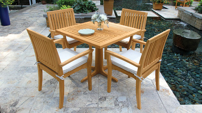 teak outdoor furniture by country