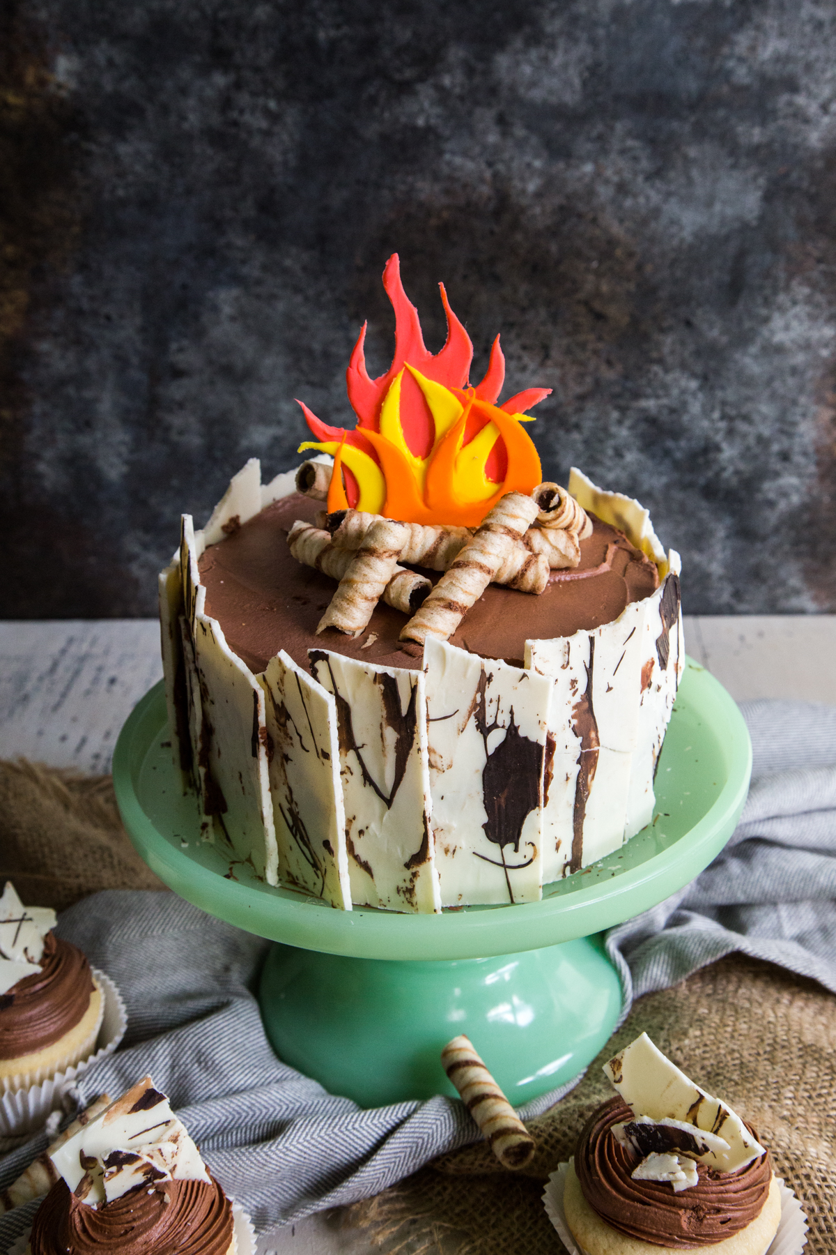 How To Make A Campfire Cake Country Cleaver