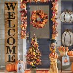 Lit Fall Garland And Wreath Country Door