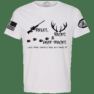 CFA-1-0009-00 - Rifle Rack Deer - Front