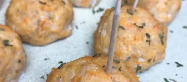 Turkey Sweet Potato Balls {THM-E}