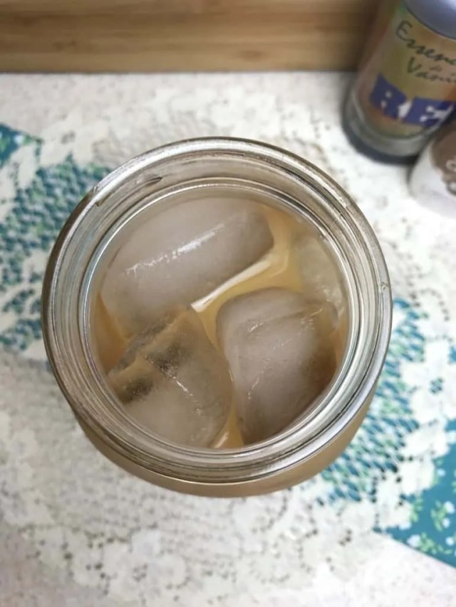 Iced Vanilla Coconut Coffee (THM-FP, Sugar-Free)
