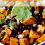 Simple Black Bean and Sweet Potato Salad | country Girl Gourmet