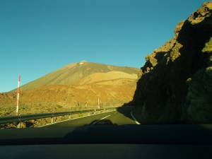 Teide from the road