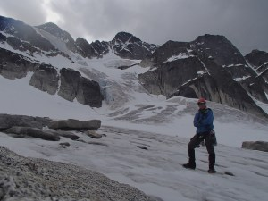 Me at the base of the north face