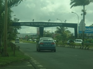 Driving in Mauritius