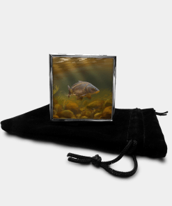 Country Images Personalised Custom Metal Pill Boxes Box Scotland Highlands Mirror Carp Angling Angler Fishing Gift Gifts