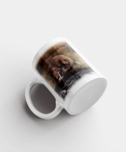 Country Images Personalised Printed Highland Collection Otter Scotland Design Cheap Mug - 1