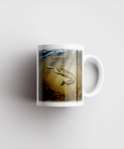 Country Images Personalised Printed Pike Fishing Angling Gift Scotland Design Cheap Mug - 2