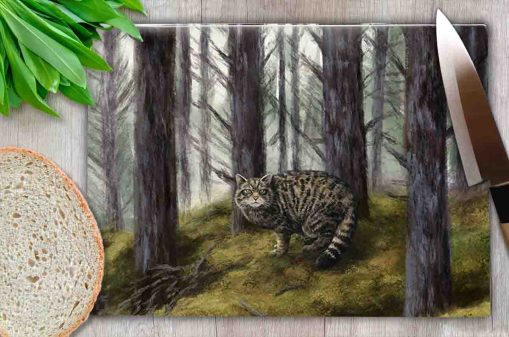 Highland Collection - Worktop Saver (Wild Cat) Personalised Gift