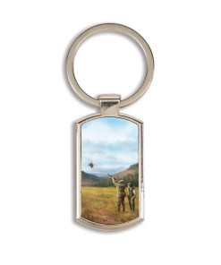 Highland Collection - Lozenge Keyring (Clay Shooting)