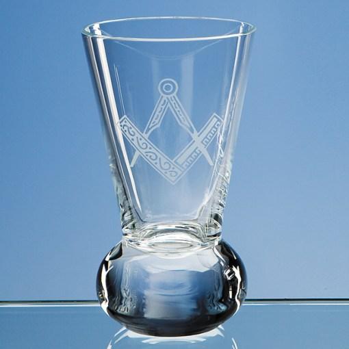 Engraved Handmade Firing Glass