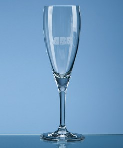 "Engraved ""Michelangelo"" Champagne Flute"