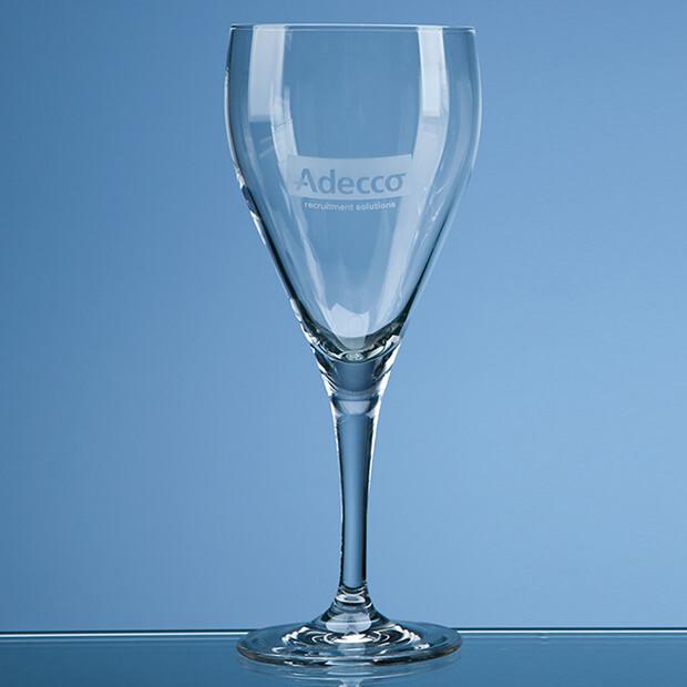 "Engraved ""Michelangelo"" Red Wine Goblet"
