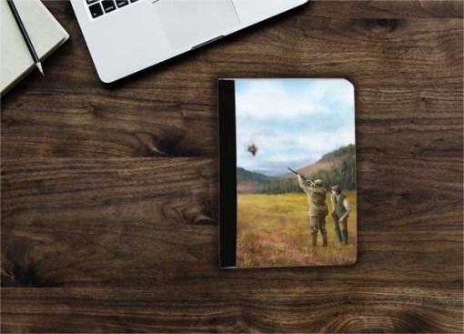 Flip iPad Case (Clay Shooting) Personalised Gift