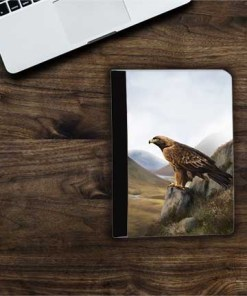 Highland Collection - Flip iPad Case (Eagle) Personalised Gift