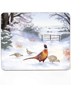 Highland Collection – Table Mat (Pheasant) Personalised Gift