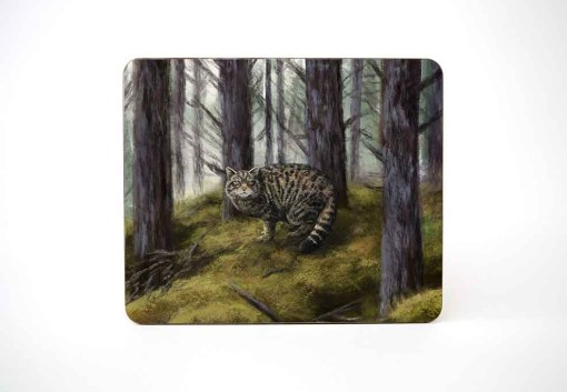 Highland Collection – Table Mat (Wild Cat) Personalised Gift