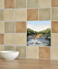 Highland Collection - Ceramic Tile (Brown Trout)