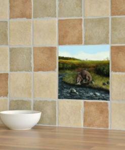 Highland Collection - Ceramic Tile (Otter)