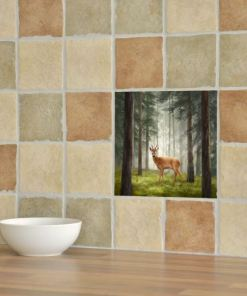 Highland Collection - Ceramic Tile (Roe Buck)