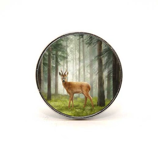 Highland Collection - Circular Magnet (Roe Buck)