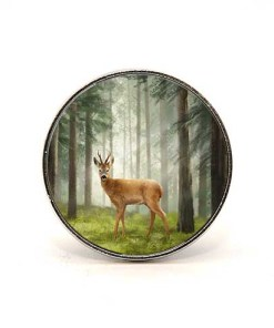Highland Collection - Circular Magnet (Roe Buck)
