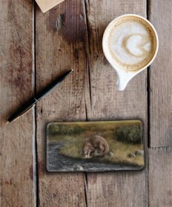 Highland Collection - Flip Phone Case (Otter) Personalised Gift