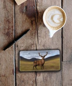 Highland Collection - Flip Phone Case (Stag) Personalised Gift