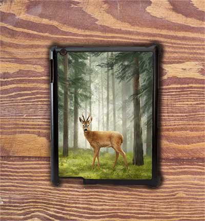 Highland Collection - iPad Shell Case (Roe Buck) Personalised Gift