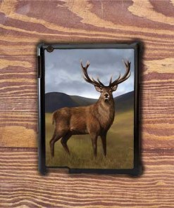 Highland Collection - iPad Shell Case (Stag) Personalised Gift