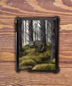 Highland Collection - iPad Shell Case (Wild Cat) Personalised Gift