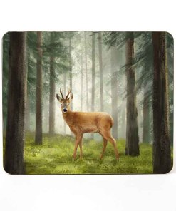 Highland Collection - Mousemat (Roe Buck) Personalised Gift