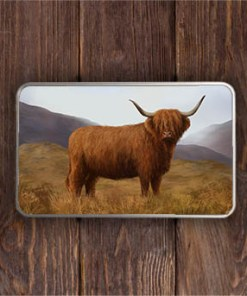 Highland Collection - Rectangular (Highland Cow) Personalised Gift