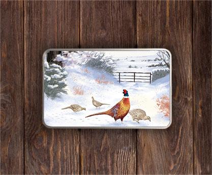 Highland Collection - Rectangular (Pheasant) Personalised Gift