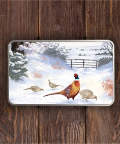 Highland Collection - Rectangular (Pheasant) Personalised Gift