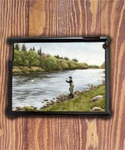 Highland Collection - iPad Shell Case (Fly Fishing) Personalised Gift