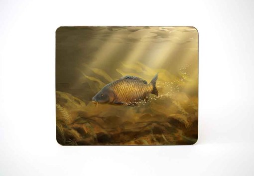 Mousemat (Common Carp) Personalised Gift