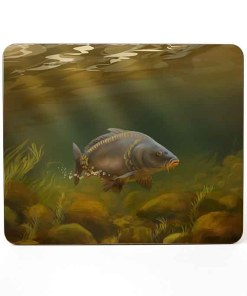 Mousemat (Mirror Carp) Personalised Gift