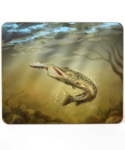 Table Mat (Pike) Personalised Gift